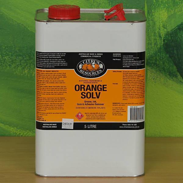 Orange Solv Brisbane Wholesale Cleaning Supplies